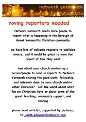 roving reporters needed