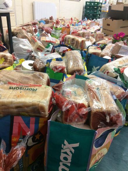 FOODBANK DELIVERY 04-2020A