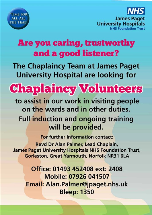Chaplaincy Volunteers 01-2018